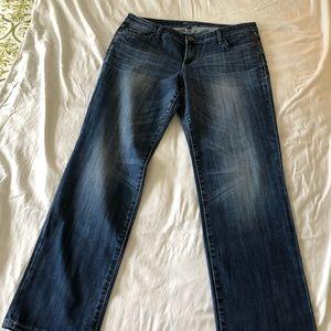 KUT straight leg jeans